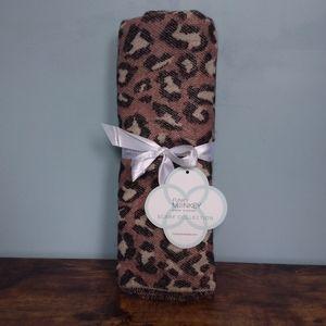 Funky Monkey Leopard Blanket Scarf